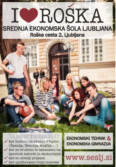 Roška, Srednja ekonomska šola Ljubljana, Srednja ekonomska šola